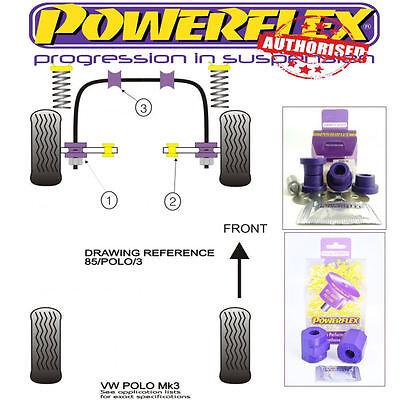 2 in Box PFF63-602 Powerflex Front Arm Rear Bushes ROAD SERIES