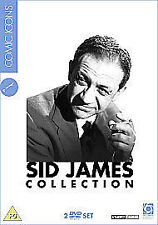 Sylvia Syms, Dick Emery-Sid James Collection: Comic Icons DVD NEW