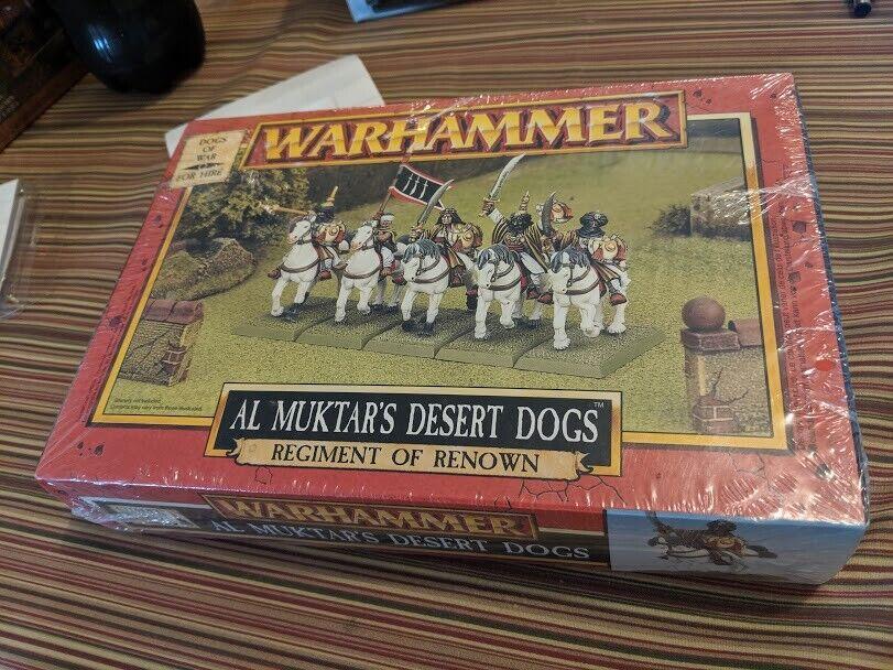 Warhammer fantasyc Age of sigmar Al Muktar's Desert Dogs Regiment of Renown nuovo