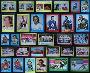 1973-74 Topps Hockey Cards Complete Your Set Pick From List 1-198