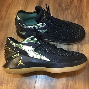 90edac8ce2d Nike Air Jordan XXXII 32 Low BG Camo Black Basketball Shoe AA1257 ...