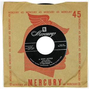CREW-CUTS-A-Story-Untold-Carmen-039-s-Boogie-7IN-1955-DOO-WOP-NM