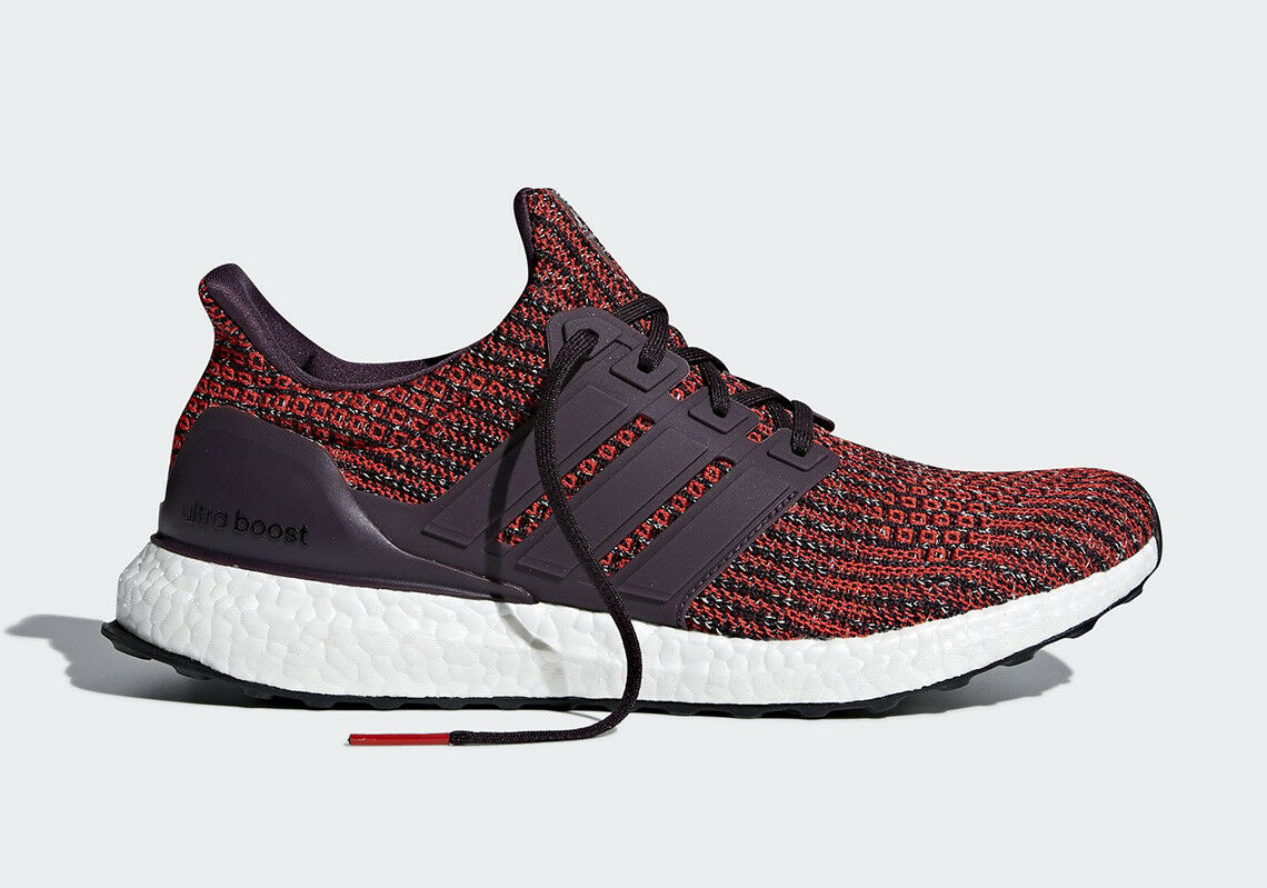 Adidas UltraBoost 4.0 Runner Original Energy Red Maroon Men Size 7.5-13 (CP9248)