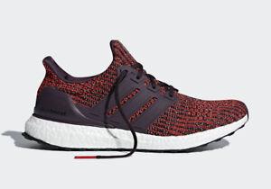 Adidas UltraBoost 4.0 Runner Original Energy Red Maroon Men Size 7.5 ... a1acf66ba