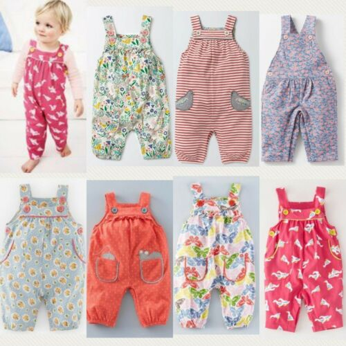 Baby Boden Sueded Finish Fun /& Applique Dungarees Various Style Types 0-4Yrs