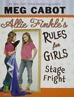 Stage Fright by Meg Cabot (Hardback, 2009)
