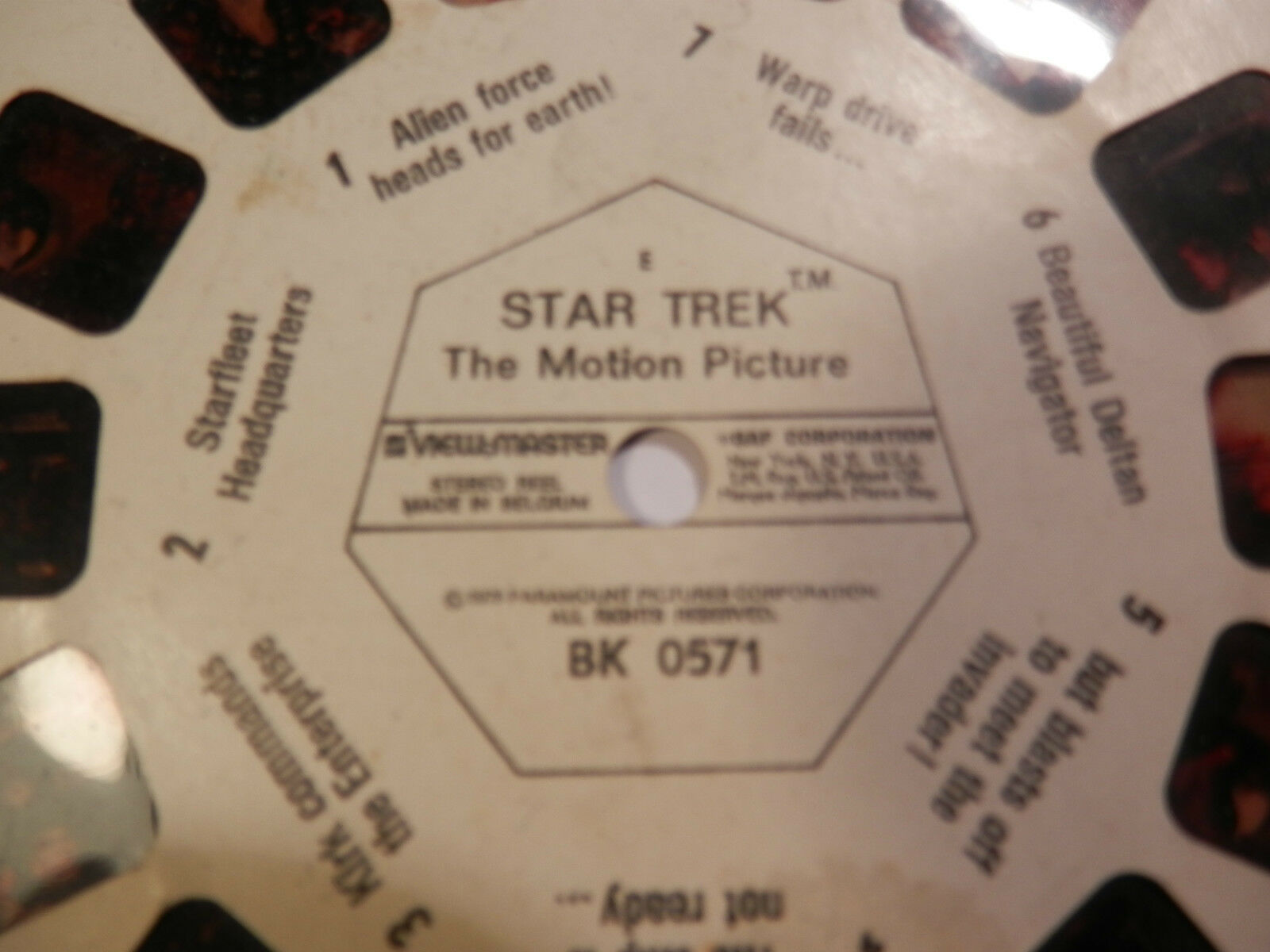 RARE SET OF 3 3 3 Star Trek The Motion Picture with Viewmaster BK0572 BK0571 BK0573 7adb41