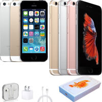 HOT APPLE IPHONE 5 5S 6 6S PLUS 16/64/128GB IOS 4G UNLOCKED SMARTPHONE ALL COLOR