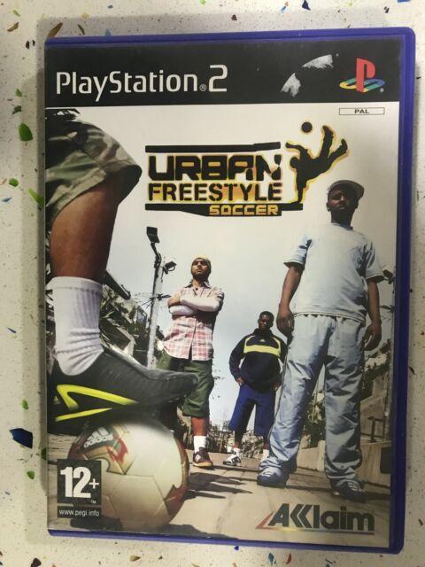 URBAN FREESTYLE SOCCER PS2 PLAYSTATION 2  PAL ESPAÑOL AM