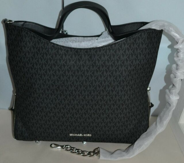 618c6cbc426eb Michael Kors Black Devon Large Shoulder Tote 30h7sdve3b for sale ...