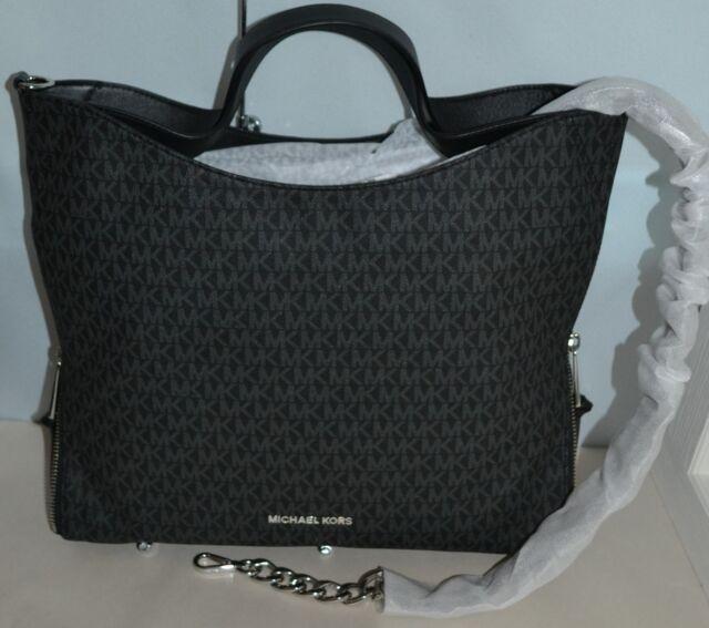 a01c708c5639 Michael Kors Black Devon Large Shoulder Tote 30h7sdve3b for sale ...