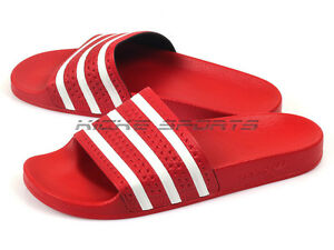7d44289f06fc Image is loading Adidas-Adilette-Light-Scarlet-White -Sportstyle-Sandals-Slippers-