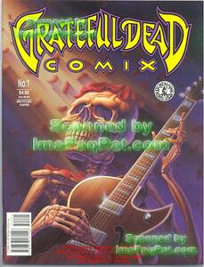 1-Grateful-Dead-Comix-Mint-Near-Mint-Must-HAVE-comic-comics-Greatful