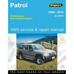 gregory s car manual for nissan patrol 1998 2014 519 9781620921371 rh ebay com au gregory car manuals pdf gregory's car manuals online free