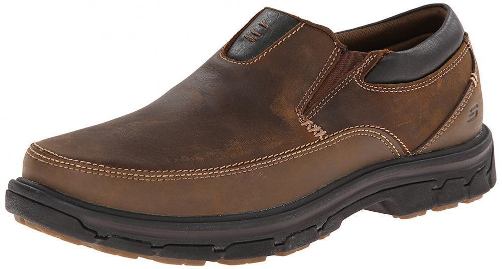 Skchers USA Segment Men's  The Search Slip on Loafer  buona reputazione