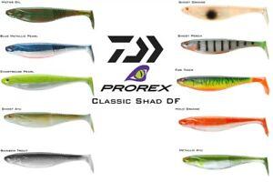 Daiwa Prorex Classic Shad DF 25cm 3pcs soft bait MOLTI COLORI!