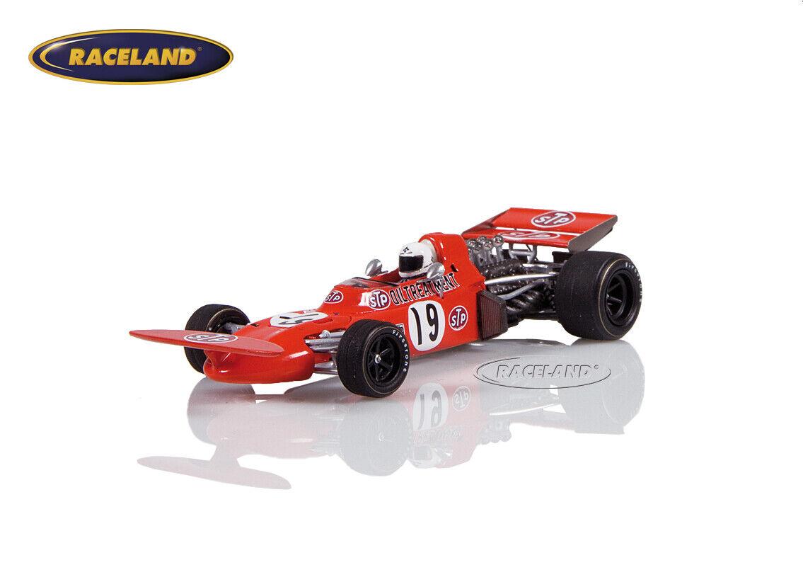 MARCH 711 Cosworth v8 f1 f1 f1 STP GP Espagne 1971 Alex Soler-Roig, SPARK 1 43, s7160 961453