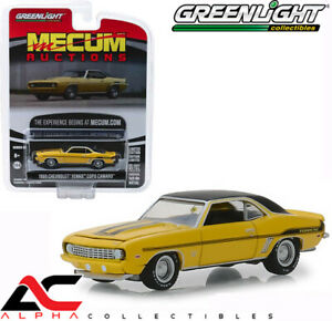 Greenlight-37170-C-1-64-Copo-Camaro-1969-Chevrolet-Yenko-Amarillo-vademecum-subastas
