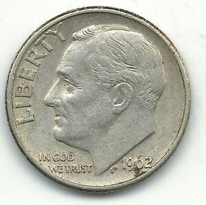 1946-1964 Roosevelt Dime VG-XF