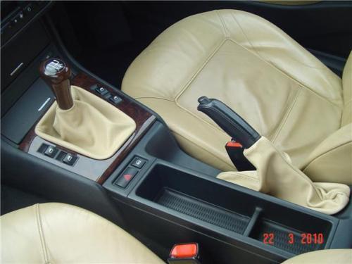 FITS BMW E36 E46 E39 E34 Z3 SAND GEAR/&HANDBRAKE GAITER NEW
