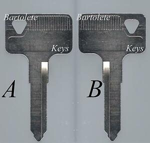 Replacement Key Blank Fits 2008 2009 2010 Kawasaki ZG 1400 Concours 14