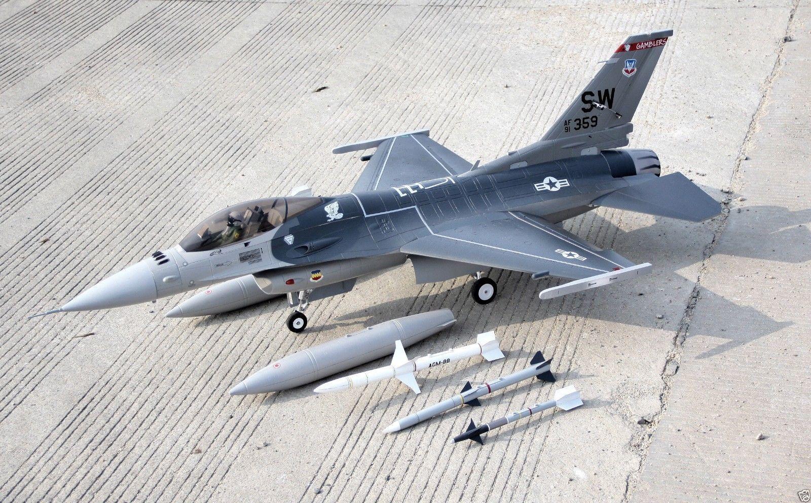 gratuitoWING 1522mm F-16 90mm 12 Blades Metal Housing  EDF Unit PNP Version EPO NIB  scelte con prezzo basso