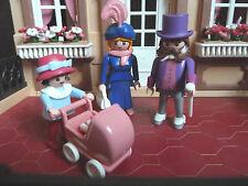 Vintage 5300 mansión victoriana Playmobil-Conjunto de familia Victoriano 5507