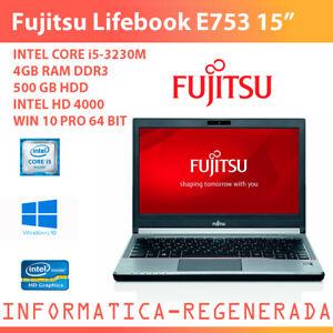 Fujitsu-Lifebook-E753-Intel-Core-i5-3230M-4gbRAM-500gbHDD-Win10ProUpd-15-034-GradoB