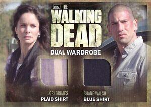 Walking-Dead-Season-2-Lori-Grimes-amp-Shane-Walsh-DM03-Dual-Costume-Card