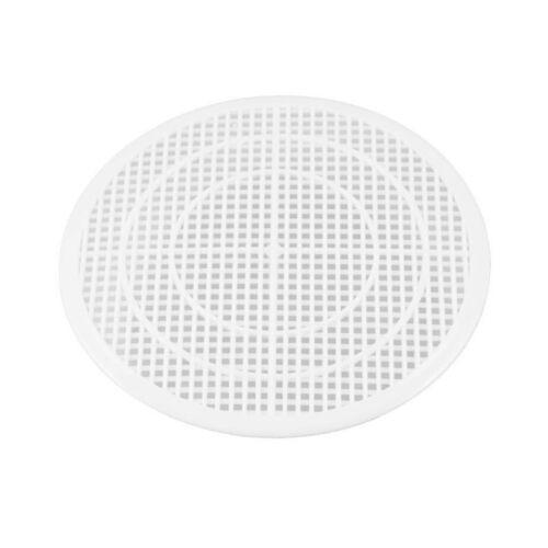 Weiss Kunststoff 12cm Abflusssieb Abfall Filter Haarsieb Filter Schmutzfaen U8U9