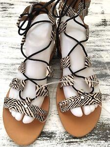 34841d70968 DV for Target by Dolce Vita Gracelyn Black White Gladiator Sandals ...