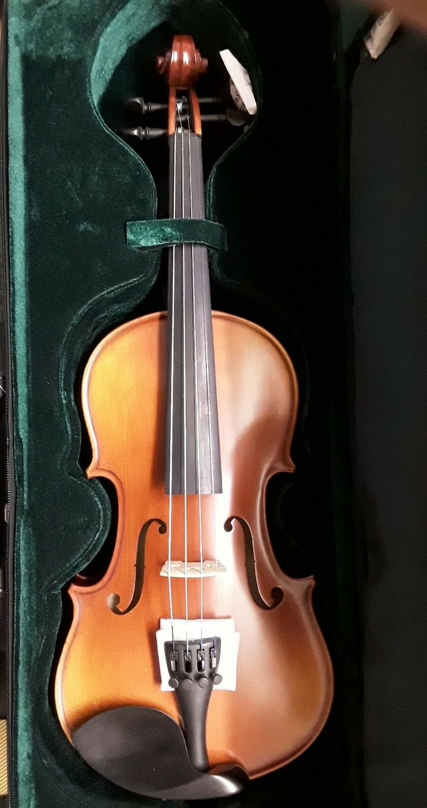 3 4 Three Quarter Größe Violin Outfit, Case +Bow.. High Quality Instrument