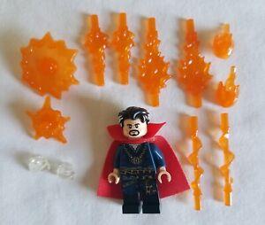 LEGO Marvel Super Heroes DOCTOR STRANGE MINIFIGURE from Sanctum Sanctorum 76108