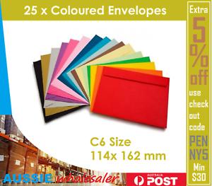 25x-Coloured-Envelopes-Wedding-Baby-Party-Invitation-114-x-162-mm