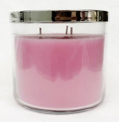 1 Bath Body Works PINK BUBBLEGUM Large 3-Wick Scented Candle 14.5 oz