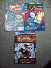 LOTTO DI 3 FUMETTI SUPERMAN, BODY BAGS
