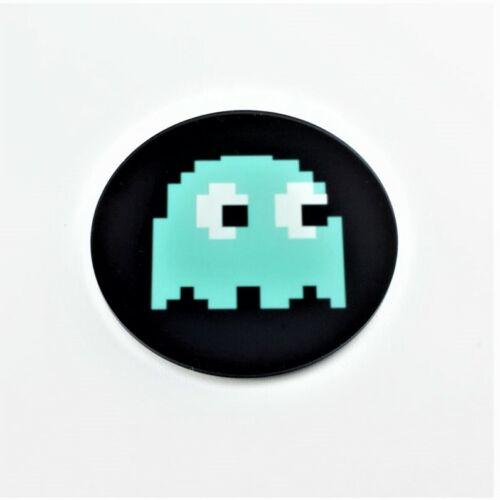 Set of 4 Pixel Ghost Retro Gaming Coasters Arcade Gaming Printed Acrylic