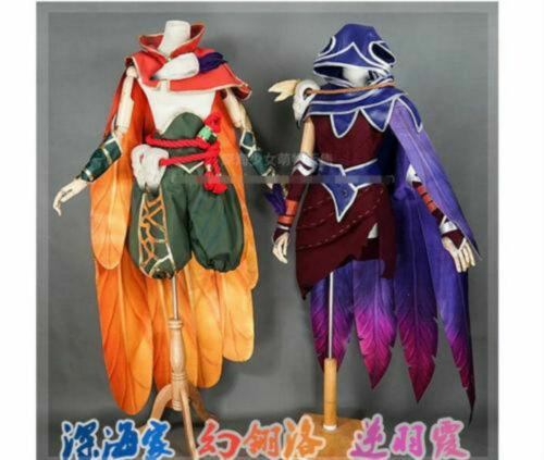 LOL lol RAKAN The Rebel Xayah raken and xayah cosplay costume