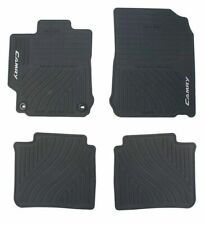 2012 2014 Camry Floor Mats All Weather 4 Piece Genuine Toyota Pt908 03120 20 Fits 2012 Toyota Camry
