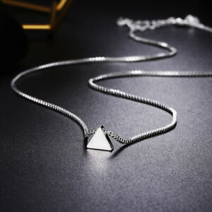 wholesale-hot-925-Silver-wedding-Necklace-Jewelry-charm-lovely-women-chain-LN055