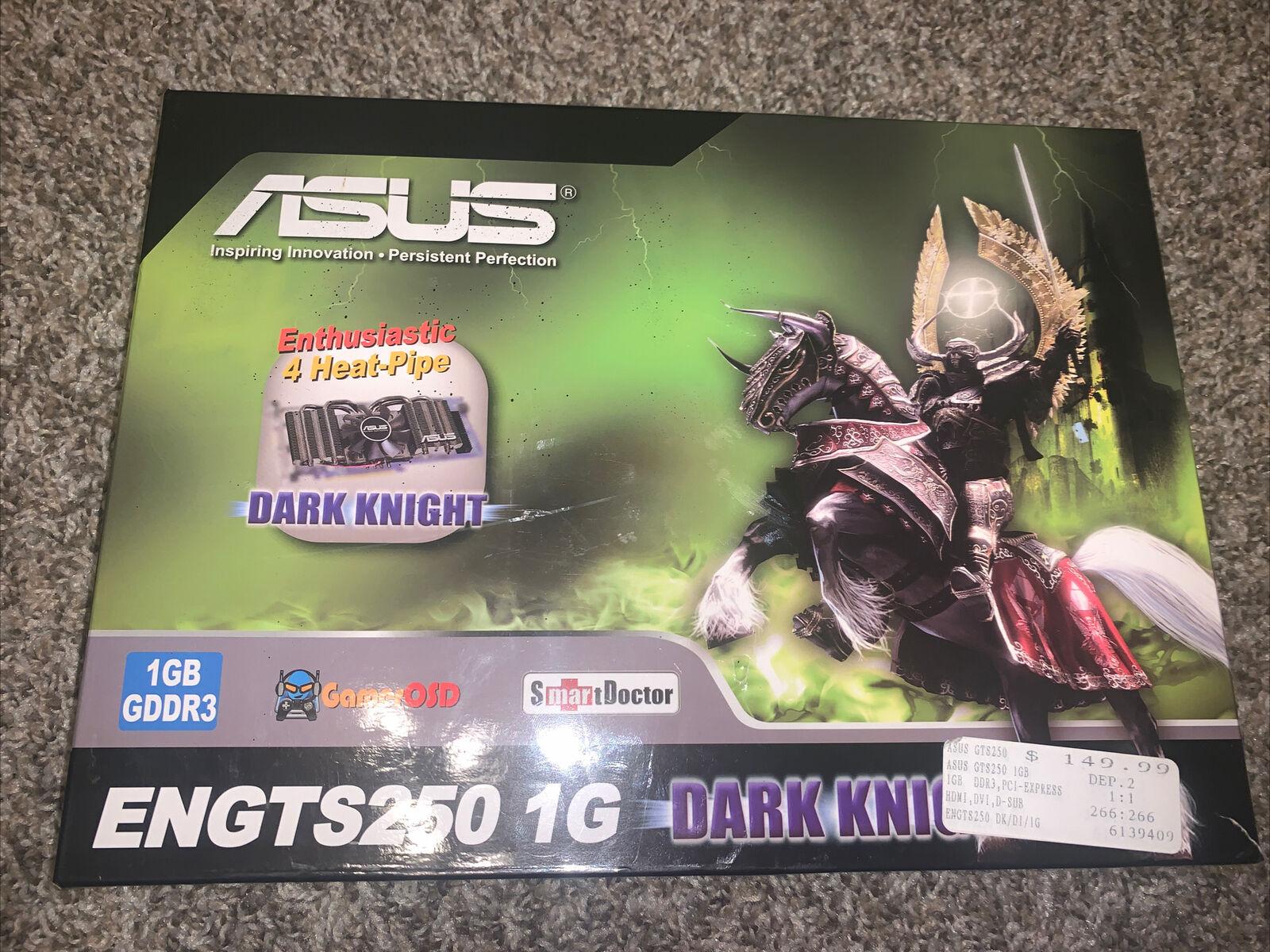 ASUS ENGTS250 DK/DI/1GD3/WW GeForce GTS 250 1GB GDDR3 PC Computer Graphics Card