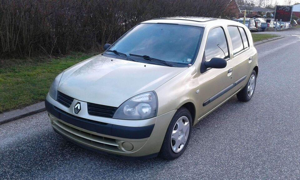 Renault Clio II, 1,5 dCi 65 Expression, Diesel