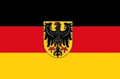 Fahne Flagge Dienstflagge zu Land Weimarer Republik 30 x 45 cm Premiumqualität