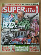 SUPER ILLU 33 - 10.8. 2006 Castros letzter Kampf Britta Steffen Maxi Arland