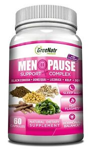 Herbal Menopause Support Hot Flashes, Night Sweats, Mood ...