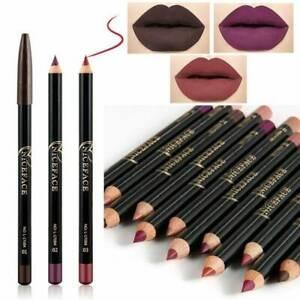 Waterproof-Long-Lasting-Pencil-Lipstick-Pen-Matte-Lip-Liner-Makeup-Multifunction
