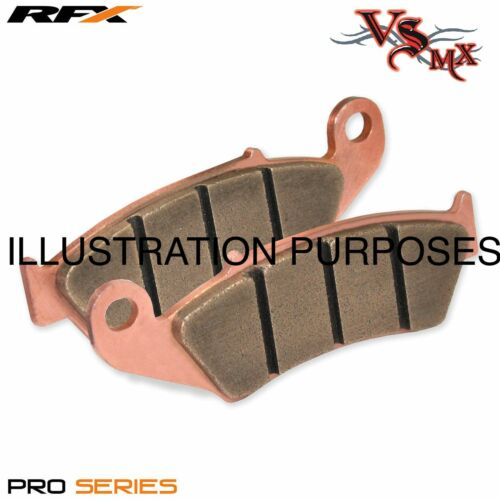 RFX PRO Series FRONT Brake Pads HONDA CRF250 04-16 SINTERED COPPER RACING