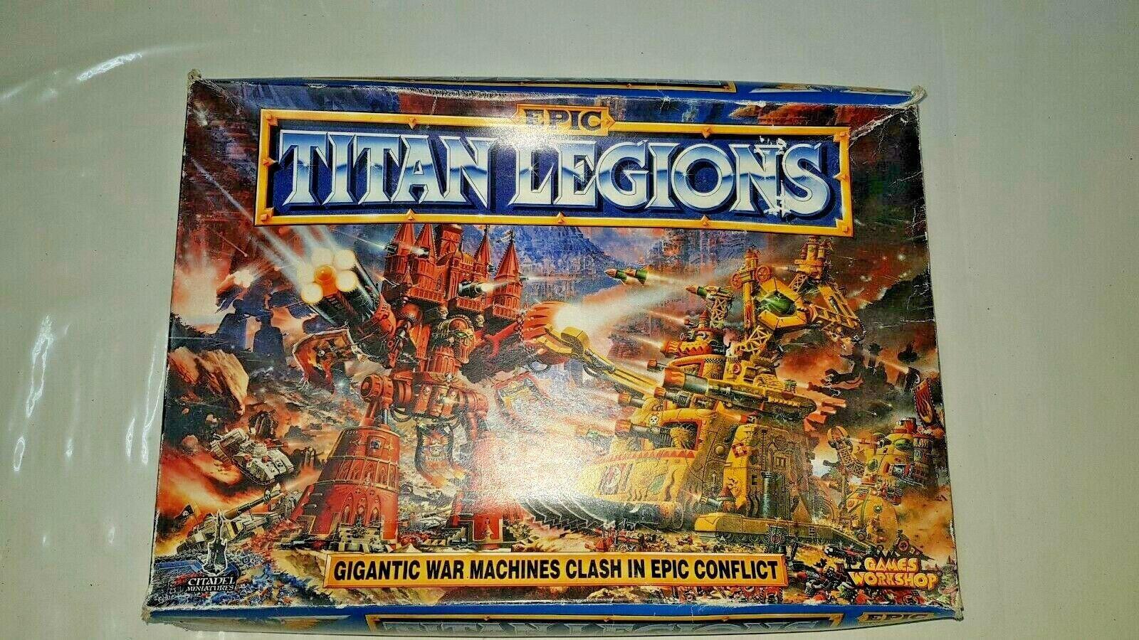 Warhammer giocos lavoronegozio Titan Legion fascio.gioco a tavola