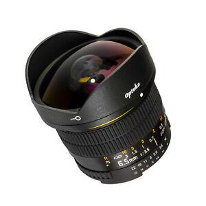 Opteka-6-5mm-HD-Fisheye-Lens-for-Nikon-DSLR-D600-D610-D780-D850-D5600-D3500