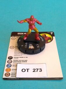 RPG-Supers-Wizkids-Heroclix-Iron-Man-with-card-OT273